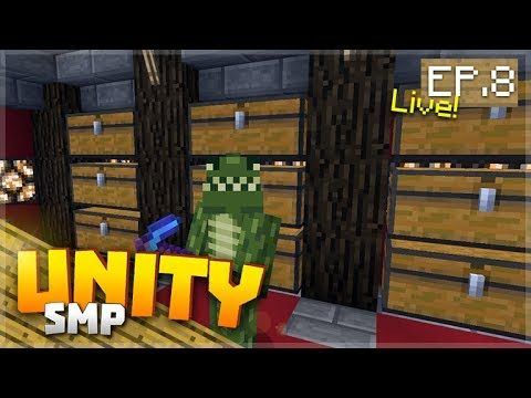 LIVE! THE CHEST ROOM! EP.8 – Minecraft Pocket Edition Unity Realms SMP
