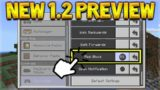 MAP MAKER 1.2 FEATURE!  Minecraft Pocket Edition – 1.2 UPDATE Feature Preview!