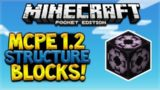 MCPE 1.2 STRUCTURE BLOCKS! Minecraft Pocket Edition – 1.2 CONFIRMED Structure Blocks!