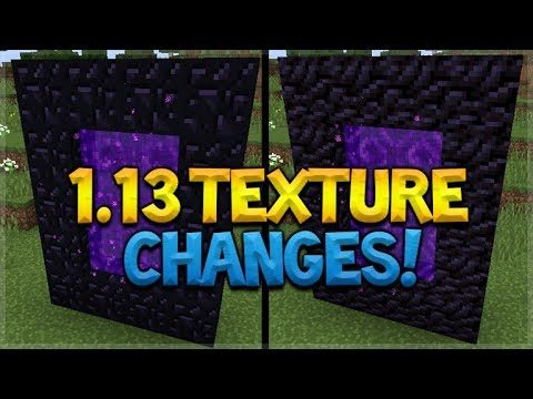 Minecraft 1.13 & MCPE NEW Block Texture Changes Coming (Minecraft Update)