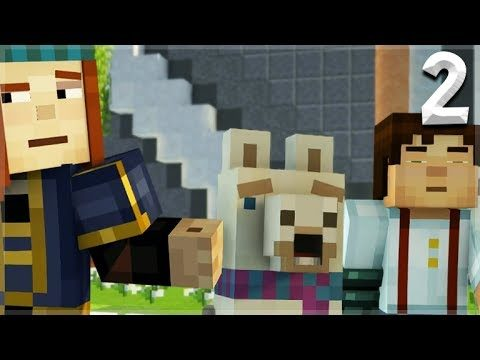 Minecraft Story Mode: Season 2 – Episode 1 MEET LLUNA THE LLAMA! (2)