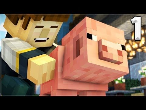 Minecraft Story Mode: Season 2 – Episode 1 REUBEN'S REPLACEMENT! (1)