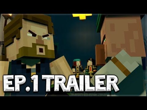 Minecraft Story Mode: SEASON 2 – NEW OFFICIAL TRAILER! Episode 1