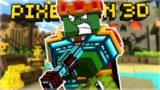 OMG! I DESTROYED EVERYONE WITH THE CRYSTAL LASER CANNON! | Pixel Gun 3D