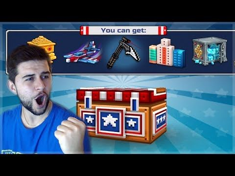 OMG! SUPER CHEST CRATE OPENING! DID WE GET LUCKY AGAIN!! Pixel Gun 3D
