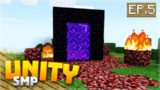PORTAL TO ANOTHER WORLD! EP.5 – Minecraft Pocket Edition Unity Realm SMP