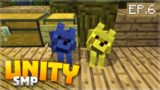 SHOPPING & COLOURED DOGS WHAT!!! EP.6 – Minecraft Pocket Edition Unity Realms SMP