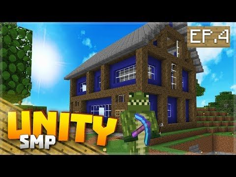 THE HOUSE ON THE HILL! EP.4 – Minecraft Pocket Edition Unity Realms SMP