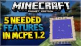 TOP 5 FEATURES NEEDED IN MCPE 1.2 FROM MINECRAFT CONSOLE EDITION