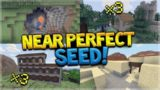 3 Woodland Mansion, 3 Villages, Jungle Temple HUGE Ravines 80% ALL Biomes! Minecraft SEED!