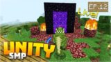 A NETHER ADVENTURE!! EP.12 – Minecraft Pocket Edition Unity Realms SMP