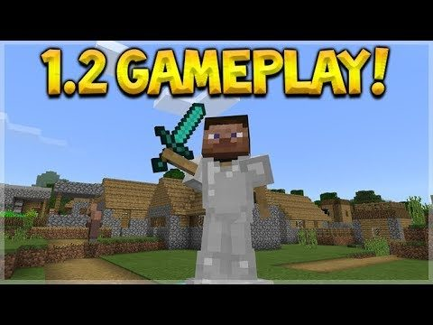 BETTER TOGETHER UPDATE! Minecraft 1.2 BETA Exploring W/ Controller