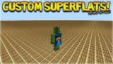 CUSTOM SUPERFLAT IN 1.2 – Minecraft 1.2 BETA How To Create Custom Superflat Worlds