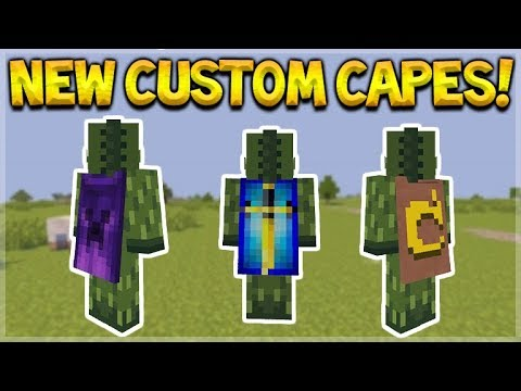 How to make a cape in minecraft ps4