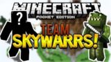 KICKED FOR HACKING WHAT!!! Minecraft Pocket Edition 1.2 – Team SKYWARS Battles!