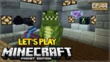 🔴 LIVE NOW! MCPE 1.1 Let's Play Minecraft Pocket Edition 1.1 -Treasure Room! 44 (Pocket Edition)