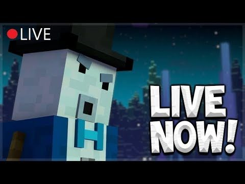 LIVE NOW – Minecraft Story Mode: Season 2 – EPISODE 2 – Full Play-through