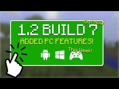 MCPE 1.2 BETA BUILD 7 – Minecraft Pocket Edition 1.2 BETA Build 7 NEW PC Features Added
