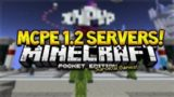 MCPE 1.2 BETA SERVERS!! Minecraft Pocket Edition 1.2 BETA Survival Games With A Controller!