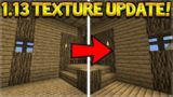 Minecraft 1.13 – THE TEXTUREPACK UPDATE New Wood Block Changes!