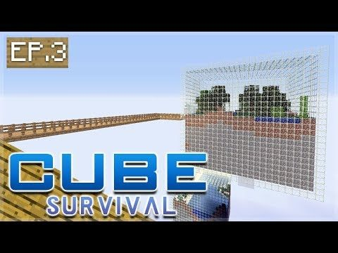 Minecraft Xbox – CUBE SURVIVAL – Bridge To New Lands Episode 3