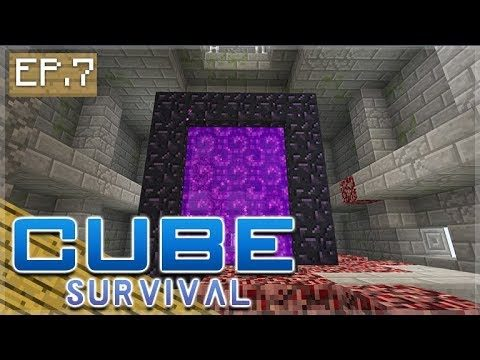 Minecraft Xbox – CUBE SURVIVAL – Let's Enchant! Episode 7