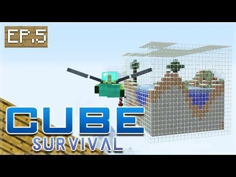 Minecraft Xbox – CUBE SURVIVAL – Let's Fly Away! Episode 5