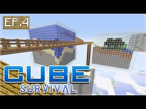 Minecraft Xbox – CUBE SURVIVAL – The Giant Fish tank Episode 4