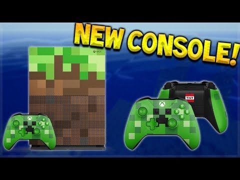 NEW MINECRAFT XBOX – Custom Xbox One S & Better Together Release Date Confirmed!