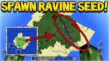 RAVINE AT SPAWN SEED!! Minecraft Pocket Edition – 1.2 Ravine At SPAWN Seed With Mineshaft!