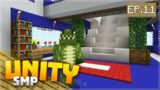 THE INTERIOR DESIGNS & REDSTONE BUILDS! EP.11 – Minecraft Pocket Edition Unity Realms SMP