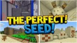 THE PERFECT SPAWN SEED!! Ravine Stronghold, Villages, Temples & Amazing Loot SEED!