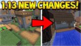 Minecraft: 1.13 Update – Cobblestone Changes AGAIN! Is This Better!?!?