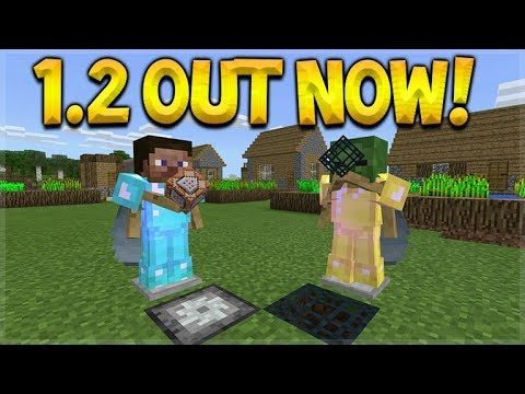 MINECRAFT 1.2 OUT NOW! – 1.2 UPDATE OFFICIAL RELEASE LET'S TEST (Better Together Update)