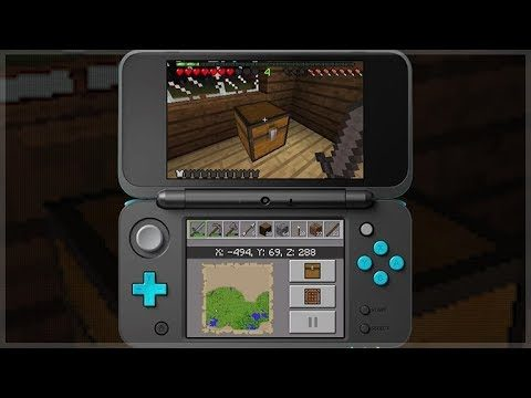 Minecraft 3DS Edition – Official Gameplay! (Minecraft Nintendo 3DS Edition)