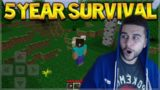MINECRAFT POCKET EDITION FROM 5 YEARS AGO! OLD SURVIVAL VERSION 0.2.1 ALPHA!