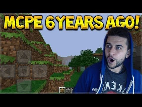 MINECRAFT POCKET EDITION FROM 6 YEARS AGO! VERSION 0.1.1