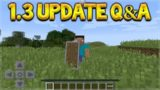 Minecraft Pocket Edition – UPDATE 1.3 Are Shields & Custom Flats Coming Q&A