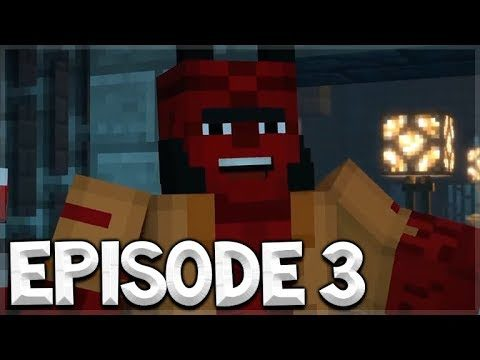 Minecraft Story Mode Season 2 – EPISODE 3 – HELL BOY In Minecraft!! Jailhouse Block