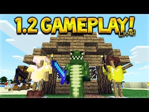 Minecraft Xbox BETA – 1.2 NEW Build Gameplay! (Better Together Update)