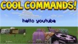 Minecraft Xbox BETA – SECRET, COOL & AWESOME Commands In Game