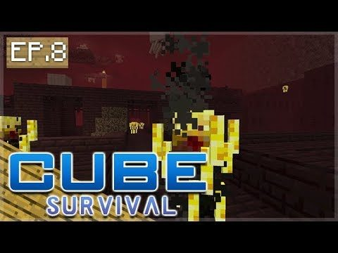 Minecraft Xbox – CUBE SURVIVAL – The Nether Exploration Episode 8