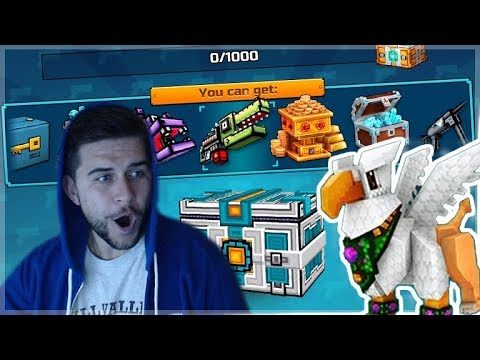 OMG EPIC! NEW 12.5.3 UPDATE OUT NOW! 500 KEY CHEST OPENING! Pixel Gun 3D