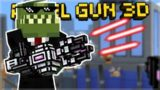 OVERPOWERED CASANOVA LVL 3 SILENCER! & LASER MINIGUN DESTRUCTION Pixel Gun 3D