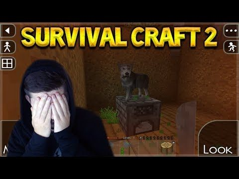 Survival Craft 2 – TRY TO SURVIVE MY FIRST NIGHT TIME!! Let's Play!