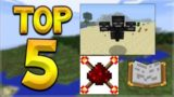 THE TOP 5 BEST EVER UPDATES ADDED TO MINECRAFT!