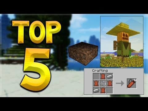 THE TOP 5 FEATURES DEVELOPED FOR MINECRAFT BUT NEVER ADDED TO THE GAME!