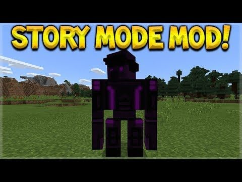 How To Summon Minecraft Story Mode Season 2 ADMIN – Story Mode Mobs In The Game! (Mod Addon)