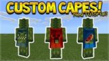 HOW TO USE CUSTOM CAPES IN MCPE 1.2 – Minecraft Pocket Edition Custom Capes on YOUR Skin Tutorial