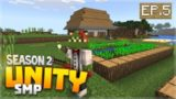 LET'S DO SOME FARMING!!! EP.5 – Minecraft Bedrock Unity Realm SMP Season 2